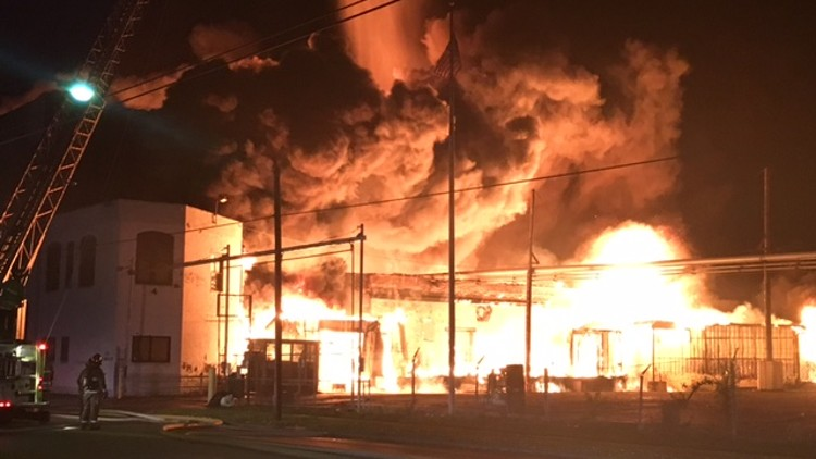 soap factory fire in 2017 (england)